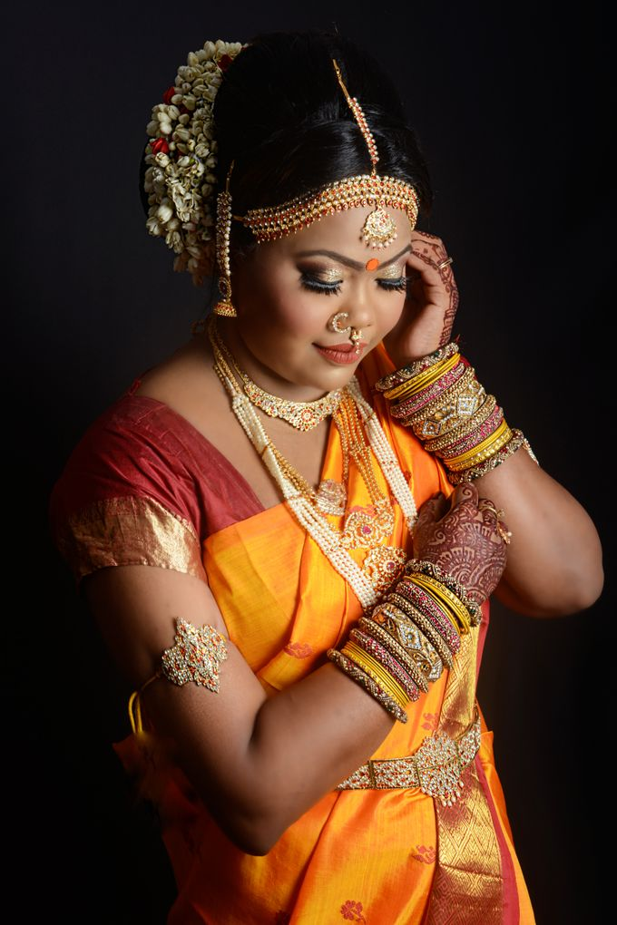 South Indian Photoshoot by Saheli Bridal House - 001