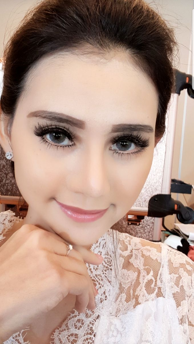 Makeup For Bride by Evlynmakeupartist - 003