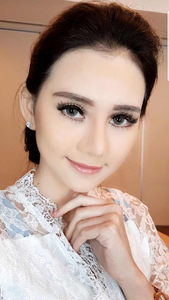 Makeup For Bride by Evlynmakeupartist - 001
