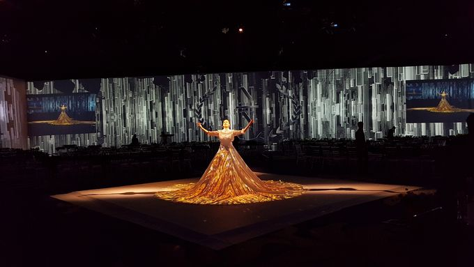 PROJECTION MAPPING - WEDDING OF NICHOLAS & NATANIA by Chroma Project - 004