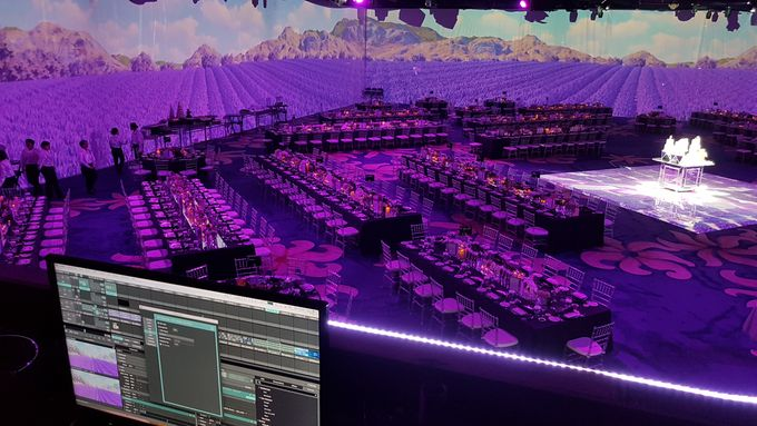 PROJECTION MAPPING - WEDDING OF NICHOLAS & NATANIA by Chroma Project - 012
