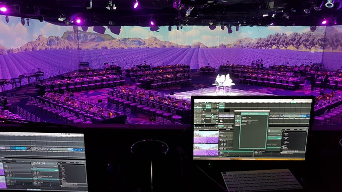 PROJECTION MAPPING - WEDDING OF NICHOLAS & NATANIA by Chroma Project - 011