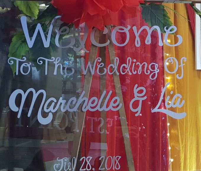 Wedding Marchelle & Lia by Andy Lee Gouw MC - 001