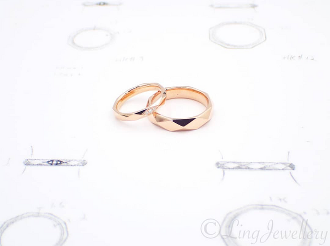 Customised Wedding Bands by Ling Jewellery   Bridestory.com