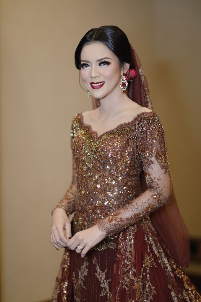 Riri & Dimas Wedding by SVARNA by IKAT Indonesia Didiet Maulana - 014