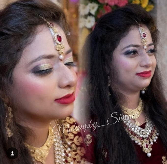 Engagement, Reception Makeup (MAC, HD) by makeupby_shivani - 002