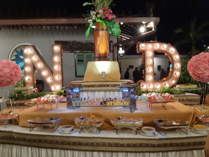 The Wedding of Mr Achmad Nibraska & Mrs Dana Meidina by PUSPA CATERING - 011