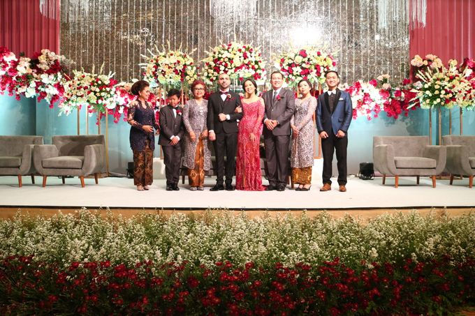 Bilingual Wedding reception of Diandra & Navid by MC Wedding Banna - 005