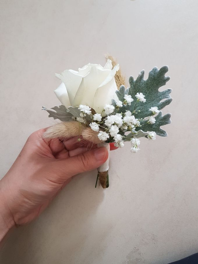 Corsage And Boutennier by nanami florist - 007