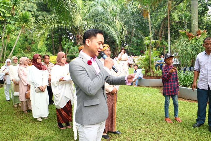 The Outdoor Garden Ceremony by MC Wedding Banna - 003