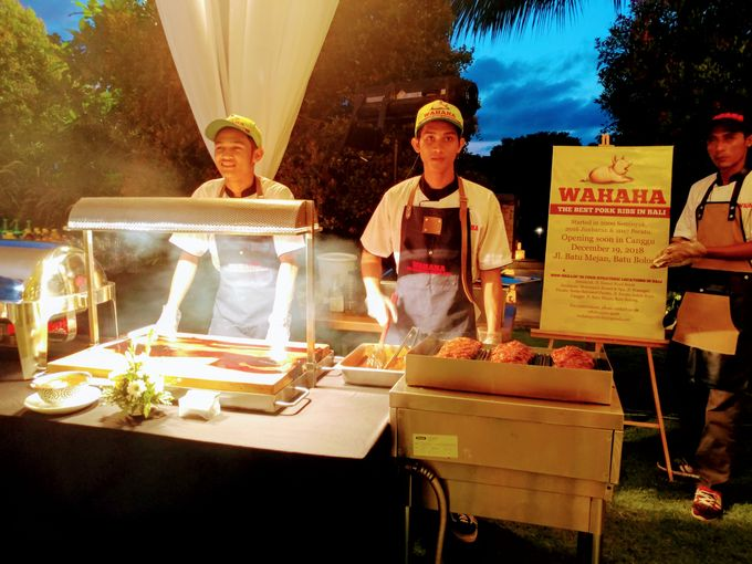 WAHAHA BBQ Station At Pandawa Estate by Wahaha Pork Ribs - 003