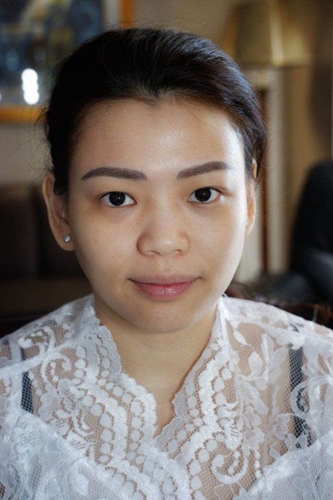 Holy Matrimony Makeup & Hairdo for Ms. Mega by Nike Makeup & Hairdo - 007