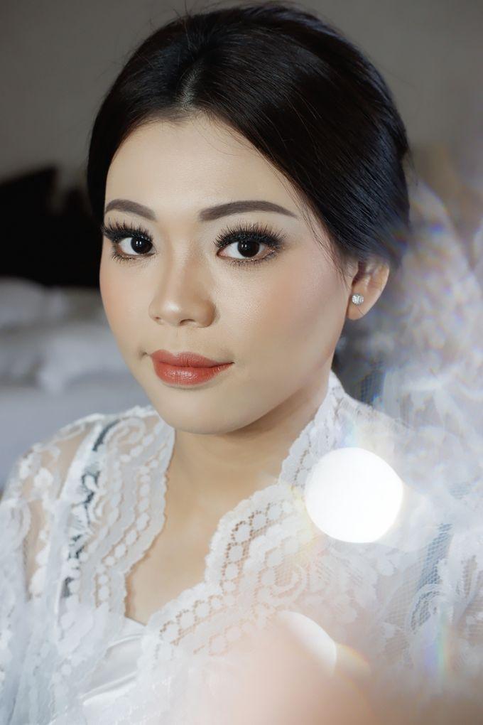Holy Matrimony Makeup & Hairdo for Ms. Mega by Nike Makeup & Hairdo - 003