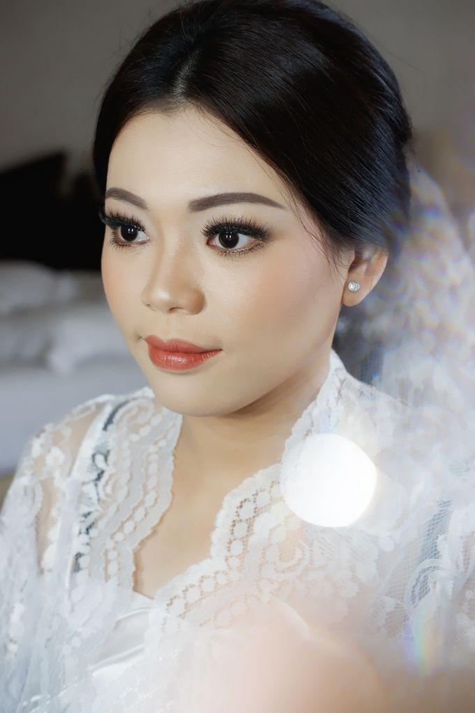 Holy Matrimony Makeup & Hairdo for Ms. Mega by Nike Makeup & Hairdo - 002