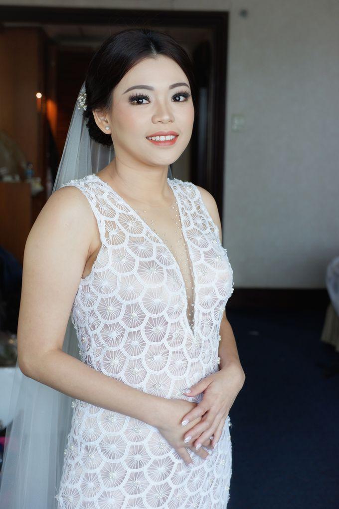 Holy Matrimony Makeup & Hairdo for Ms. Mega by Nike Makeup & Hairdo - 005