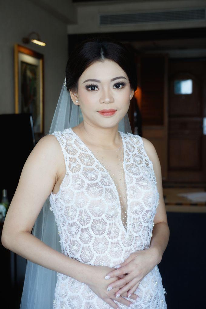 Holy Matrimony Makeup & Hairdo for Ms. Mega by Nike Makeup & Hairdo - 004