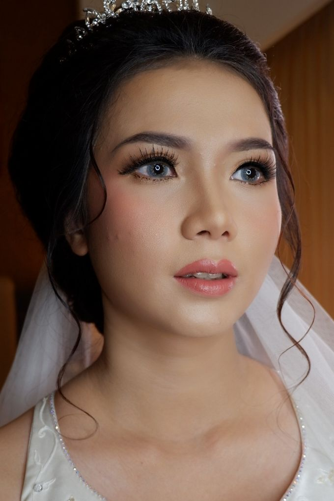 Wedding, Trial & Prewedding by CHERIS'H makeup artist - 019