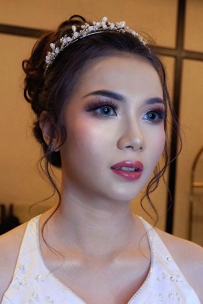 Wedding, Trial & Prewedding by CHERIS'H makeup artist - 018