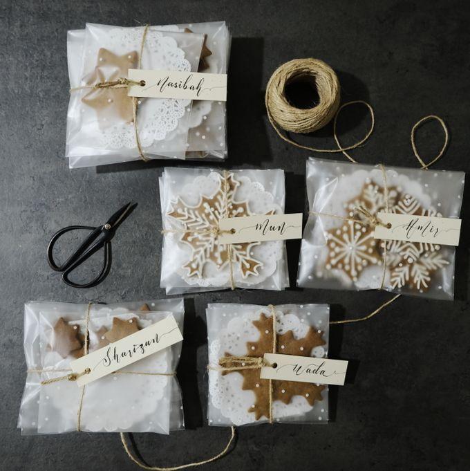 Minimalist Wedding Place Card/ Gift Tag by Dumdeedum - 004