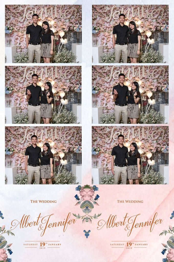 Albert & Jennifer by Twotone Photobooth - 019