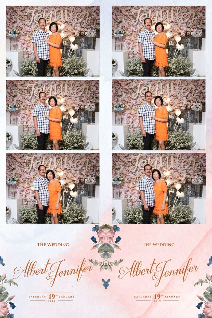 Albert & Jennifer by Twotone Photobooth - 027