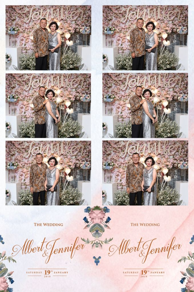 Albert & Jennifer by Twotone Photobooth - 028