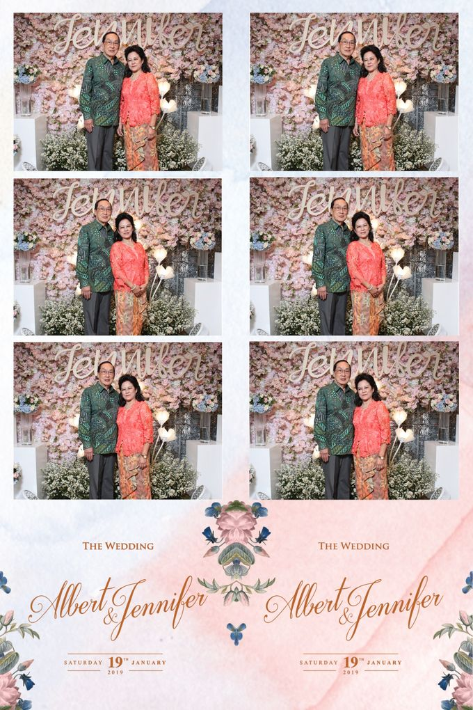 Albert & Jennifer by Twotone Photobooth - 029