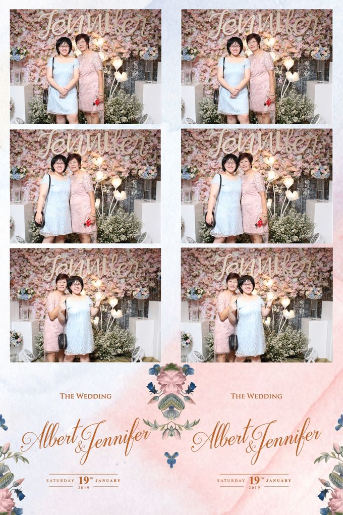 Albert & Jennifer by Twotone Photobooth - 030