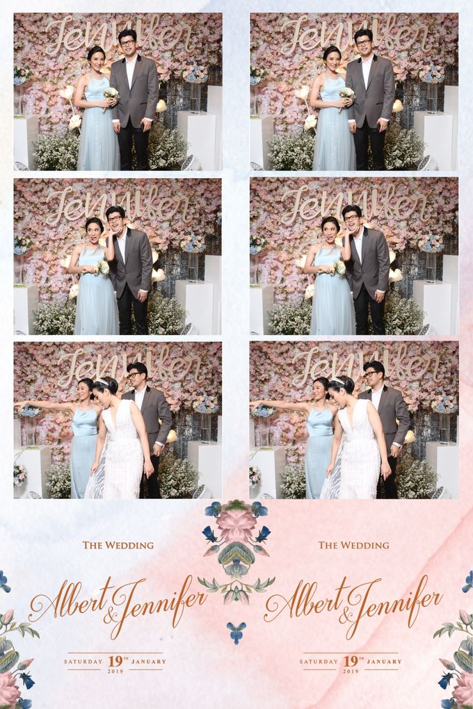 Albert & Jennifer by Twotone Photobooth - 011