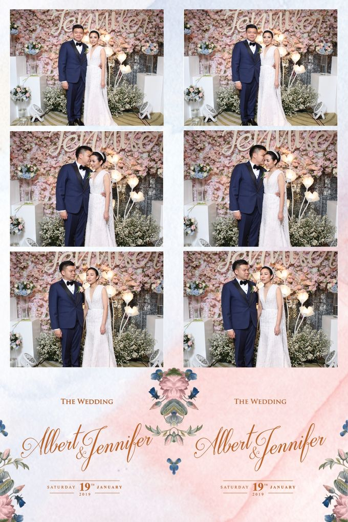 Albert & Jennifer by Twotone Photobooth - 002