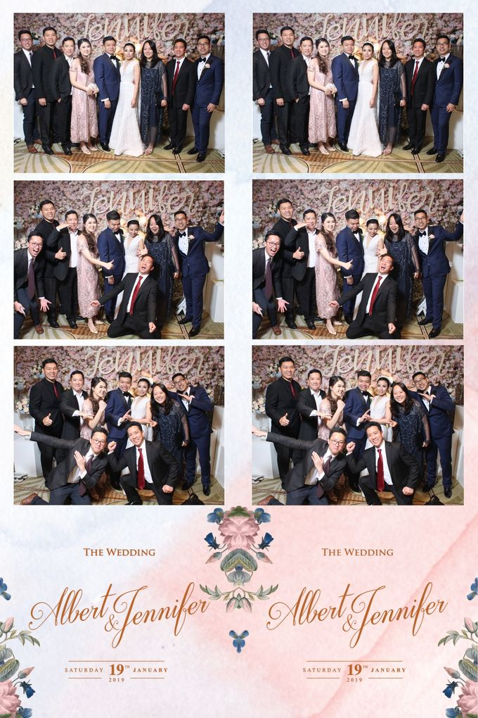 Albert & Jennifer by Twotone Photobooth - 009
