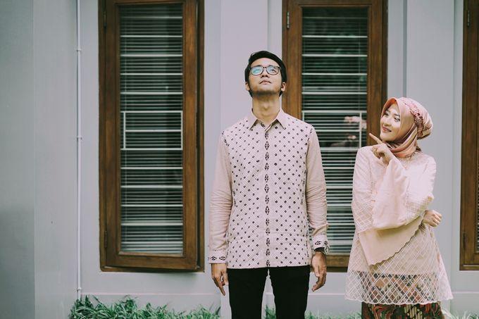 THE ENGAGEMENT OF ANDRA & ARDA by byawatugilang - 001
