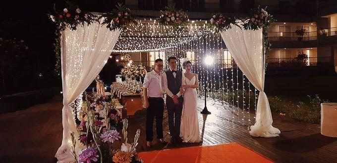 The Reception of Li Wei & Tang Juang by Miracle Wedding Bali - 007