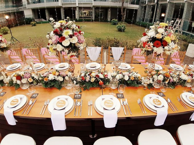 The Reception of Li Wei & Tang Juang by Miracle Wedding Bali - 001