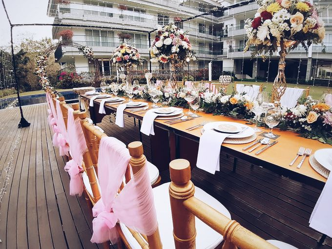 The Reception of Li Wei & Tang Juang by Miracle Wedding Bali - 002