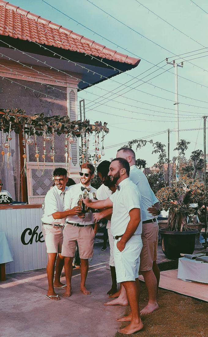 The wedding of louis & amanda by Miracle Wedding Bali - 004