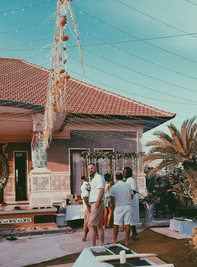 The wedding of louis & amanda by Miracle Wedding Bali - 023
