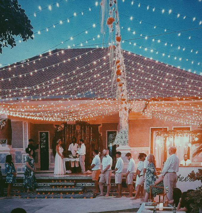 The wedding of louis & amanda by Miracle Wedding Bali - 021