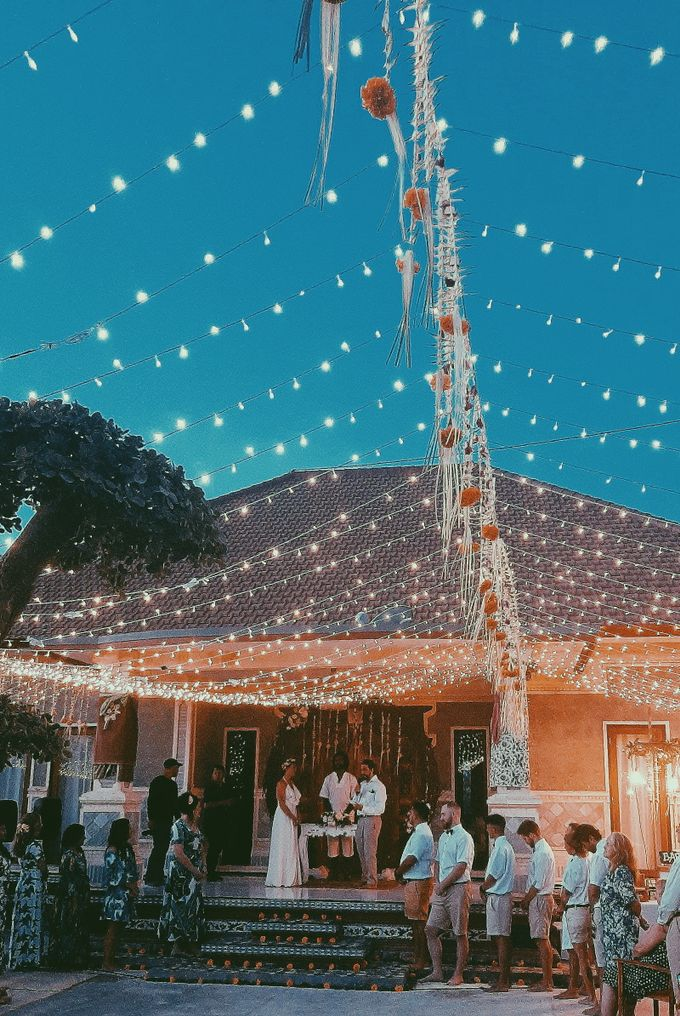 The wedding of louis & amanda by Miracle Wedding Bali - 033