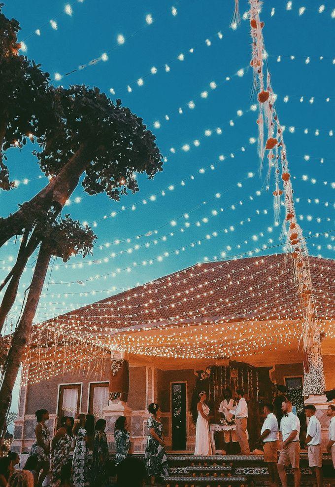 The wedding of louis & amanda by Miracle Wedding Bali - 029
