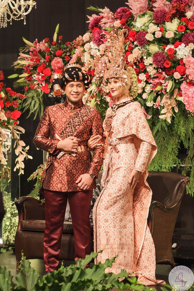 Wedding of Sandy & Dian Pelangi by GLOW LIGHT - 005