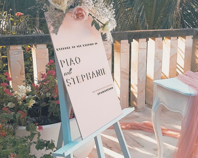 The Wedding of Piao & Stephanie by Miracle Wedding Bali - 001