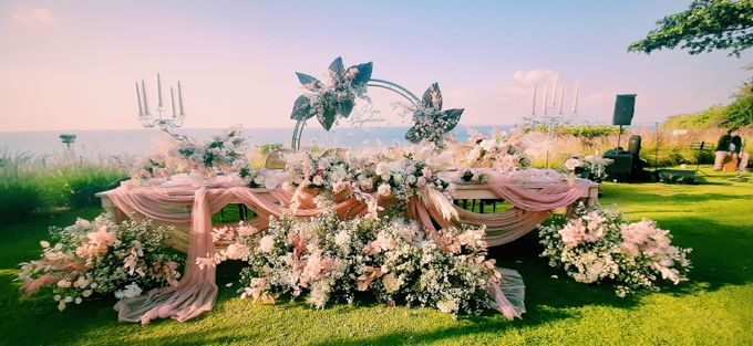 The Wedding of Piao & Stephanie by Miracle Wedding Bali - 034