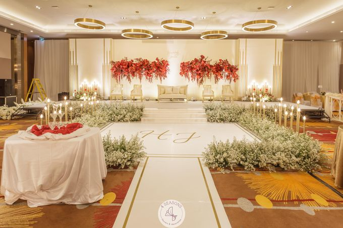 Wedding of Heri & Jovita by 4Seasons Decoration - 005