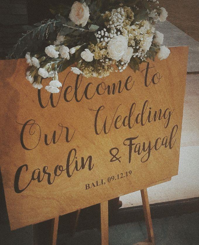The Wedding of Faycal & Carolin by Miracle Wedding Bali - 015