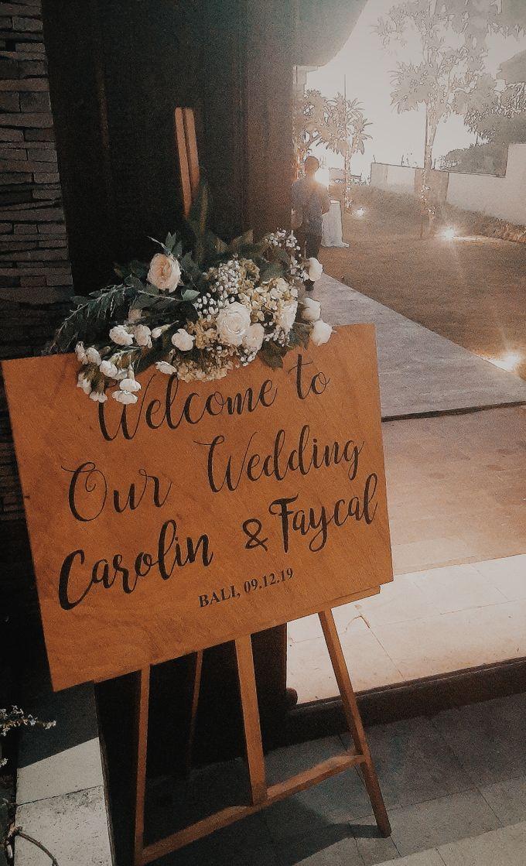 The Wedding of Faycal & Carolin by Miracle Wedding Bali - 019
