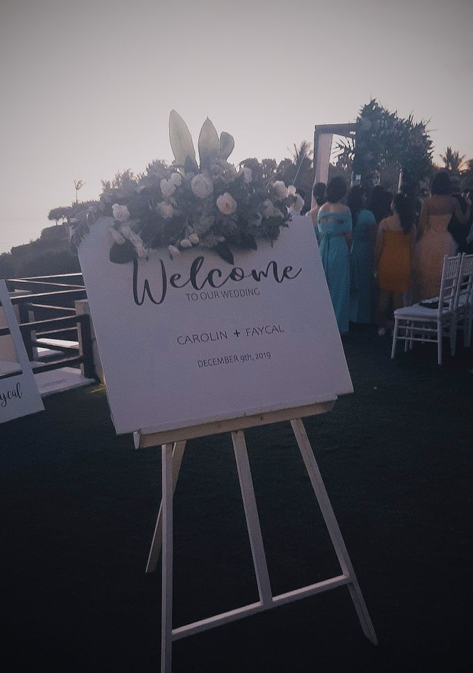 The Wedding of Faycal & Carolin by Miracle Wedding Bali - 016