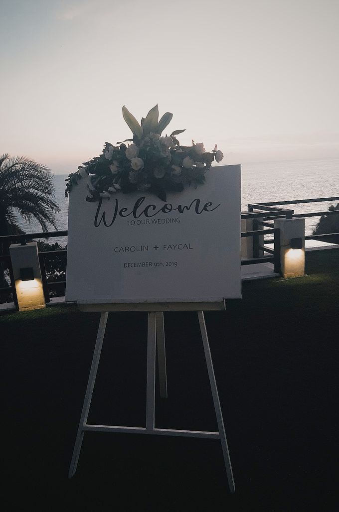 The Wedding of Faycal & Carolin by Miracle Wedding Bali - 011