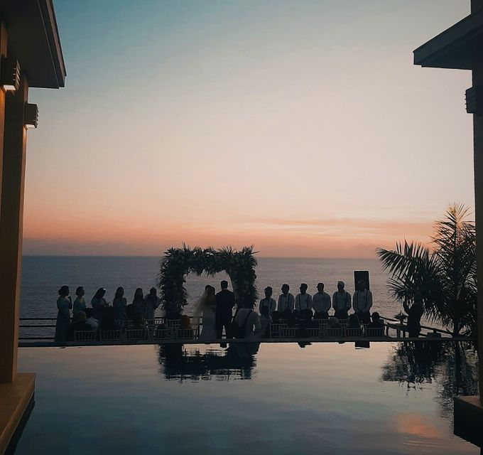 The Wedding of Faycal & Carolin by Miracle Wedding Bali - 004
