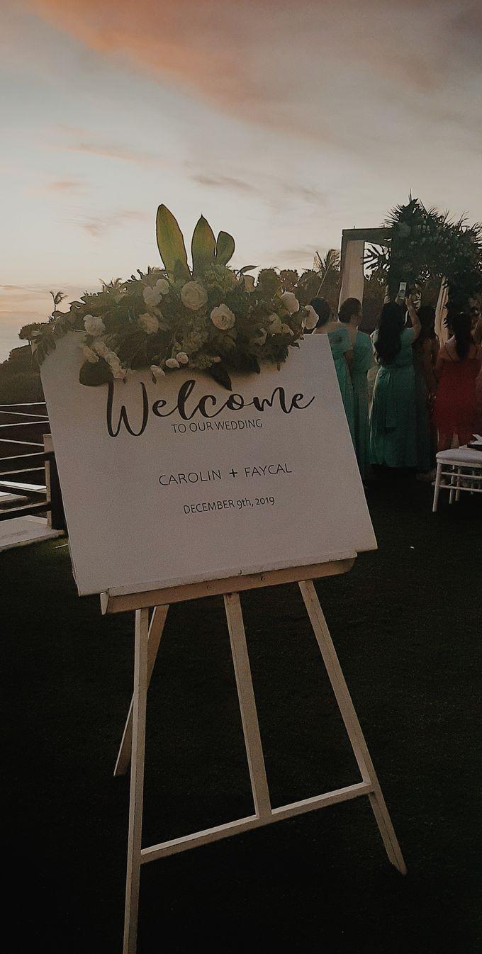 The Wedding of Faycal & Carolin by Miracle Wedding Bali - 022